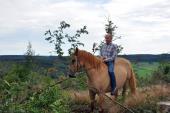 Août 2011, sur les hauteurs de La Comté - Vielsalm