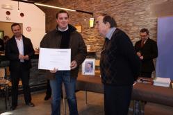 Michaël lebecque, lauréat du Fonds Benjamin Lorcé