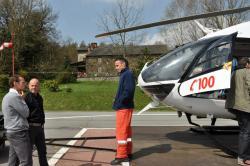Olivier Pirotte, Jean-Nicolas Collignon et Jean-Louis Godeau (pilote émérite, présent à Bra depuis le premier jour!)