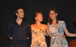 Thibaut Dille, Sarah Klénes et Annemie Osborne...