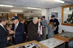 Visite de vétérans américains au Musée d'Ennal (Grand-Halleux - Vielsalm)